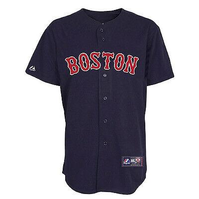 Alte Baseball-jersey (MLB Baseball Trikot Jersey BOSTON RED SOX Alternate navy von Majestic)