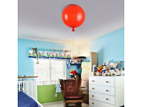 STORY COLOURFUL RED BALLOON LAMP LARGE FLUSH MOUNT MODERN SINGLE LIGHT WITH PULL