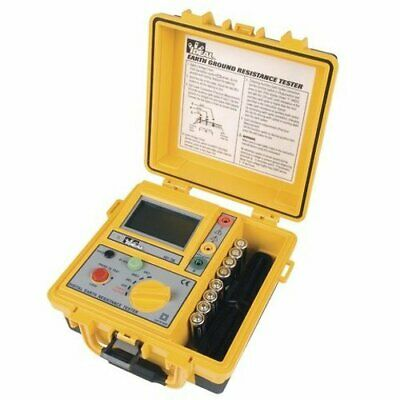Ideal Electrical 61-796 Earth Ground Resistance Tester 2-3-point