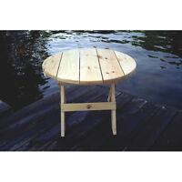 "Pine ""Bear Chair"" table - brand new, still in box"