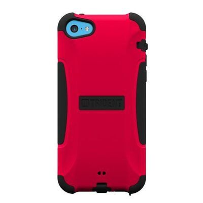 Trident Example AG-APL-IPH5C-RED Aegis for Apple iPhone 5C Retail Packaging - Red