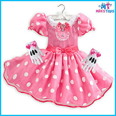 Disney Minnie Mouse Pink Costume for Kids sizes 2-4 brand new with tags