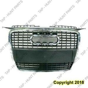 Grille (Chrome/Primed-Black) Without Sport Package Audi A3 2006-2008