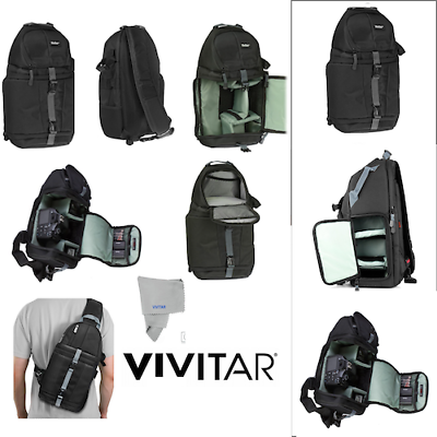 Travel Camera Bag Case Backpack for DSLR SLR Canon EOS NIKON FUJI SONY OLYMPUS