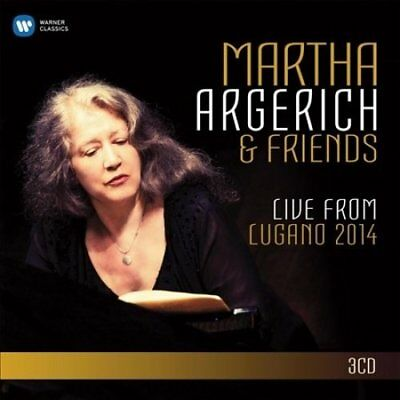 Martha Argerich and Friends Live from the Lugano Festival 2014 - New...