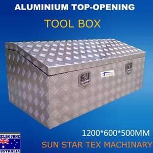 L1200*W600*H500 Heavy Dute Top Open Aluminium Toolbox! Clayton Monash Area Preview