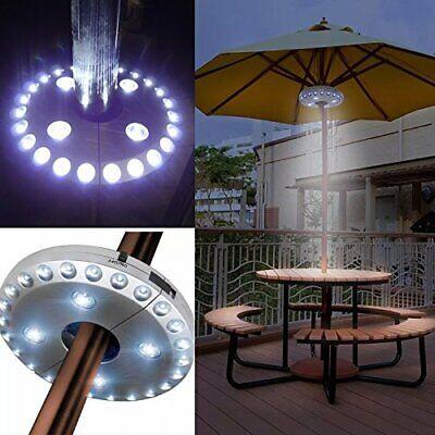 Lámpara inalámbrica para sombrilla de patio, con 24 más 4 luces LED;...