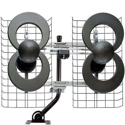 Antennas Direct ClearStream 4 HDTV Antenna Indoor/Outdoor Extreme Range (C4-CJM)
