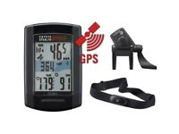 Cateye Stealth Evo + GPS Cycle Computer ANT+HR & SP/CAD Sensor NEW Model CC-GL51