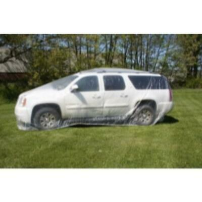 Woodward Fab WFCC-LARGE Heck Industries 24 Ft. Plastic Car Cover, Large