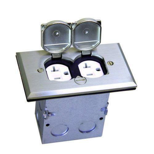Floor Electrical Outlets: Floor Outlet Box