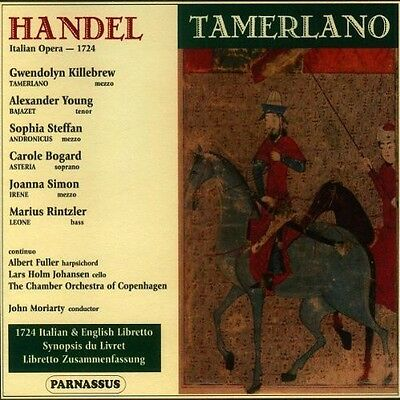 John Moriarty - Tamerlano [New CD]