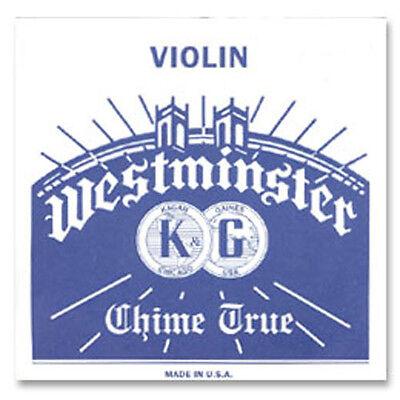 Genuine Westminster Violin E string 4/4 Loop End Medium