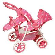 Double Doll Stroller