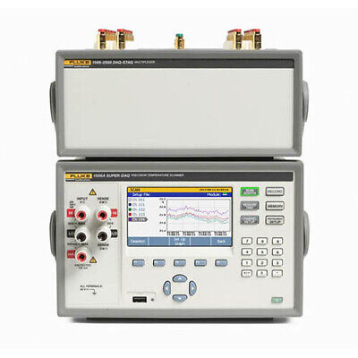 Fluke Calibration 1586adshc 120c Super-daq Precision Temp Scanner