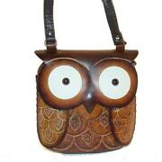 Hand Tooled Leather Handbag