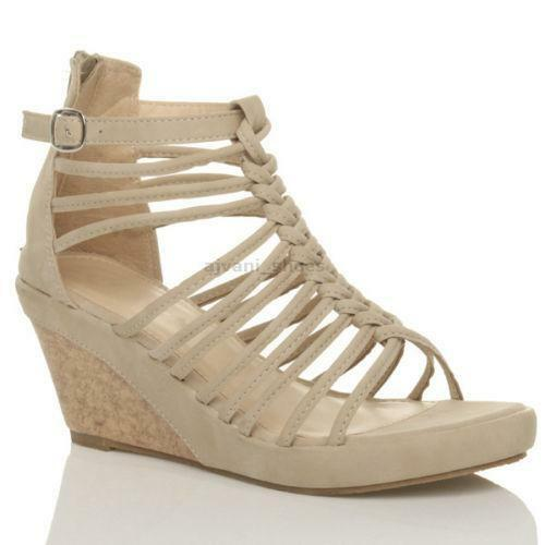 ad8ad8f9261 Gladiator Wedge Sandals