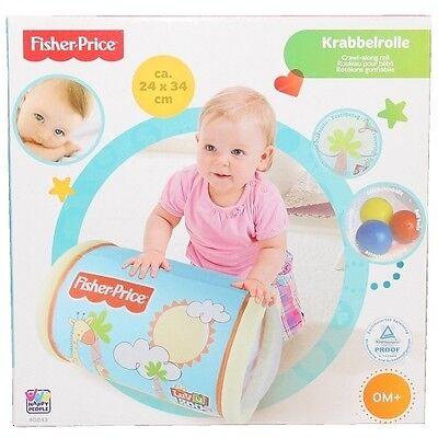 Fisher Price Spielrolle für Babys, Rolle, Baby Spielzeug Spielrolle Rasselbällen