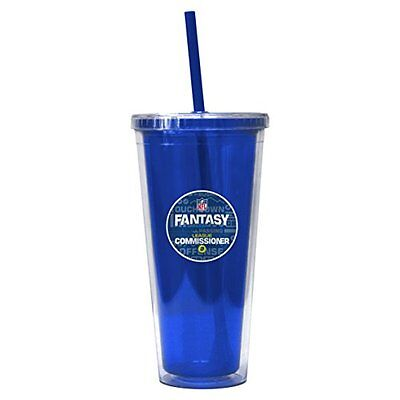 Nfl Fantasy Football Commissioner Color Wall Tumbler  22 Ounce