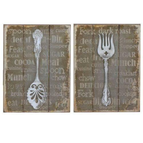 Fork And Spoon Wall Decor Ebay