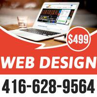 Affordable Web Design & Website Development @ $499