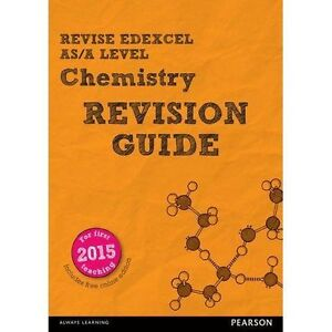 REVISE Edexcel AS/A Level Chemistry Revision Guide by Nigel Saunders (Mixed med…