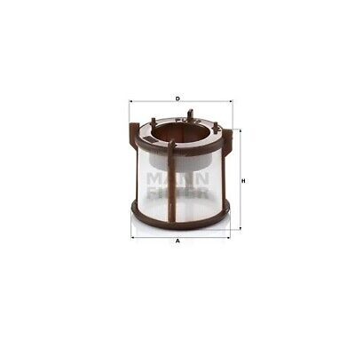 1 Kraftstofffilter MANN-FILTER PU 50 x passend für