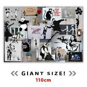 Large Banksy Canvas