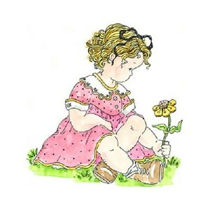 PENNY-BLACK-RUBBER-STAMPS-DAYDREAM-GIRL-FLOWER-2010