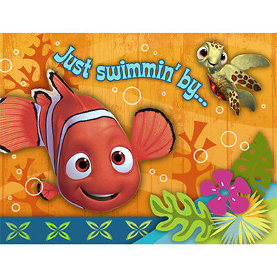 NEMO CORAL REEF THANK YOU NOTES Birthday Party Supplies FREE SHIPPING