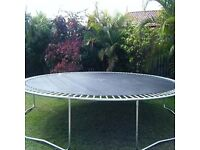 14 foot trampoline - free (GONE SUBJECT TO COLLECTION)