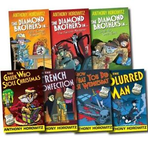 Anthony Horowitz 7 Books Collection Set Diamond Brothers Pack