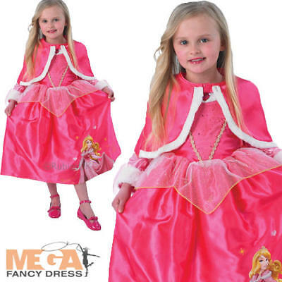 Sleeping Beauty Winter Wonderland Disney Princess Aurora Fancy Dress Costume (Winter Wonderland Fancy Dress Kostüme)