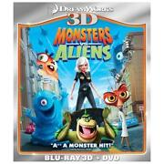 Monsters vs Aliens 3D Blu Ray Movies