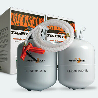 Tiger Foam Tiger Foam Tf600sr - Slow-rise Spray Foam Insulation Kit Tf600sr