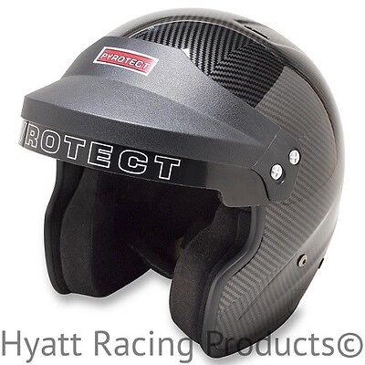 Pyrotect Pro-Sport Open Face Auto Racing Helmet SA2015 - All Sizes & Colors