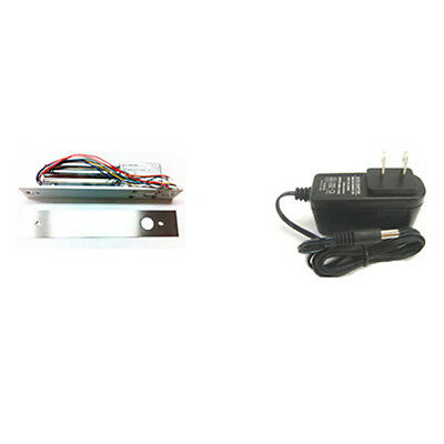 New High Quality Keyless Electric Door Lock Deadbolt Model Bel002 Power Supply