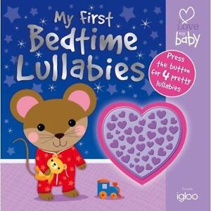Lullaby Sounds Shaped Button for Babys (ILMB - First Sounds - Igloo Books Ltd) (