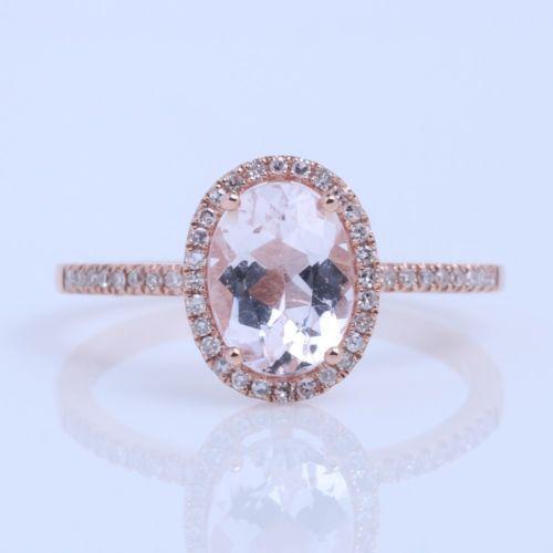 Morganite Engagement Ring   eBay