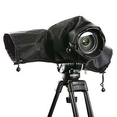 Movo CRC01 Waterproof DSLR Camera Rain Cover Dust Protector for Canon Nikon Sony
