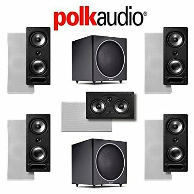 Polk Audio 265-RT 5.2 Vanishing Series In-Wall / In-Ceiling Home Theater System