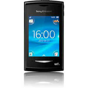 sony ericsson xperia x8 e15i black blue smartphone frei. Black Bedroom Furniture Sets. Home Design Ideas