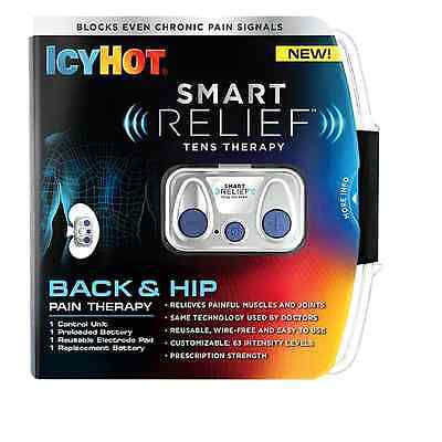 Icy Hot Smart Relief Back and Hip Starter Kit - Brand New - Quick Shipping