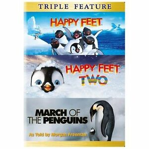 NEW Happy Feet/Happy Feet 2/March of the Penguins