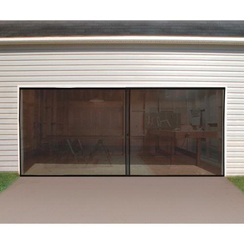 Double Garage Door Screen Ebay