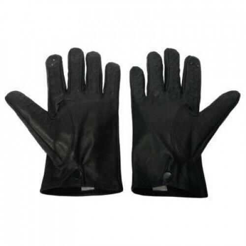 Vampire Lambskin Leather Gloves Large Massaging Sensation Strict Bondage BDSM