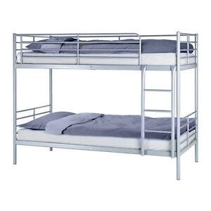 BulkBed Ikea Silver, single beds Gatineau Ottawa / Gatineau Area image 1