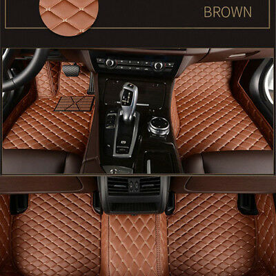 Car Floor Mats leather Liner Waterproof pads Auto Mat For BMW 7 Series 2005 2018