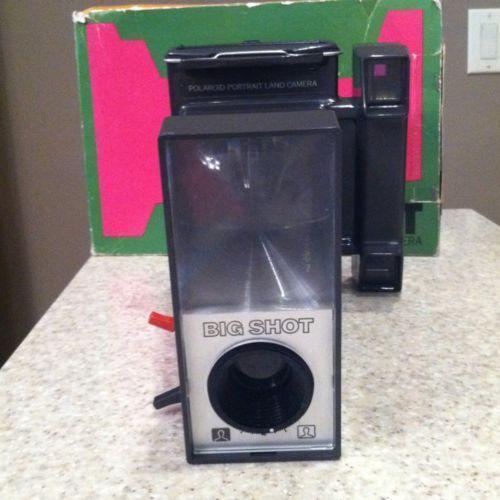 polaroid big shot cameras   photo ebay Polaroid 600SE Camera Polaroid 600SE Camera