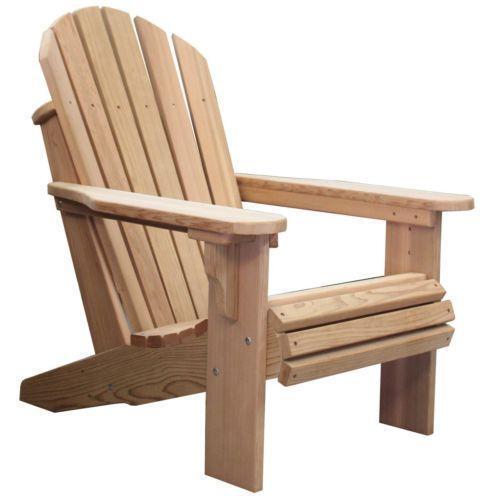 Wood Adirondack Chair Ebay